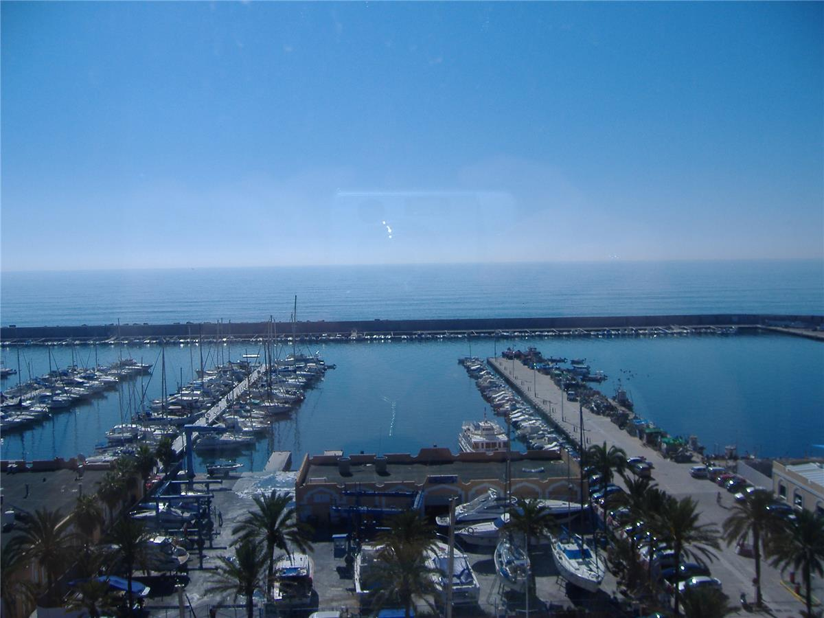 Stunning marina view from the terrace
